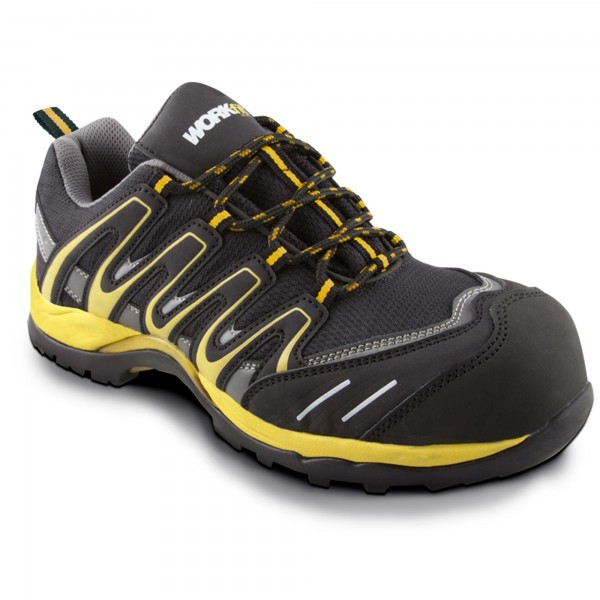 Zapato seg. workfit trail amarillo n.40
