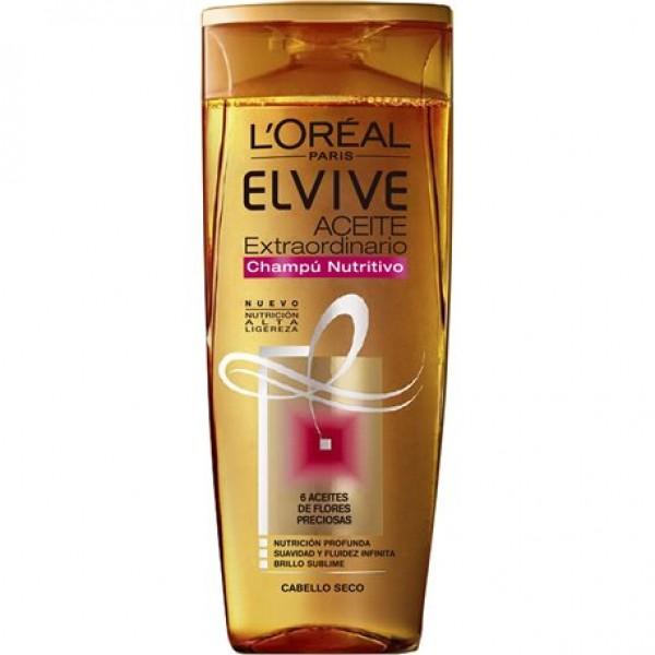 L´Oreal Elvive champu aceite extraordinario 285 ml