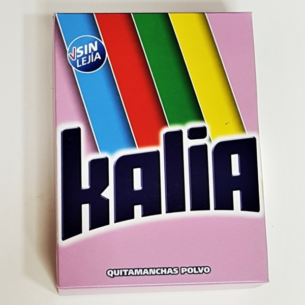 KALIA VANISH detergente polvo 600 gr.