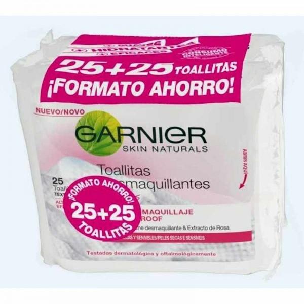 Garnier Skin Active Toallitas Desmaquillantes 25+25 uds