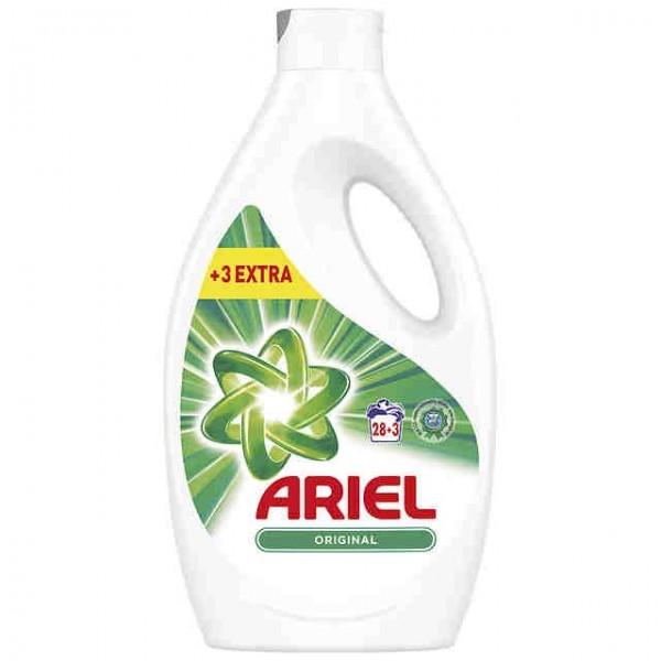 Ariel  detergente 27+3  dosis