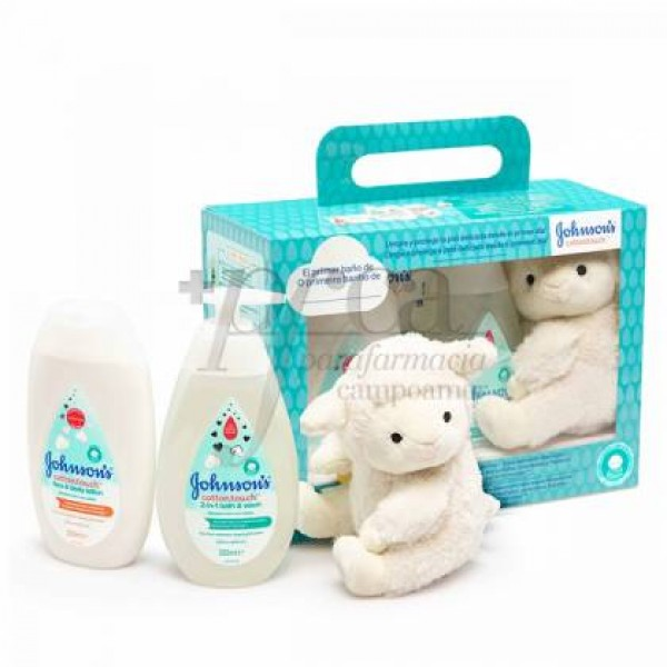JOHNSON'S COTTON TOUCH LOC+ TOALLITAS+BAÑO PROMO